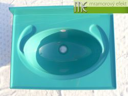RETRO Becken in RAL Farben