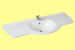 Waschbecken Design Gold 130