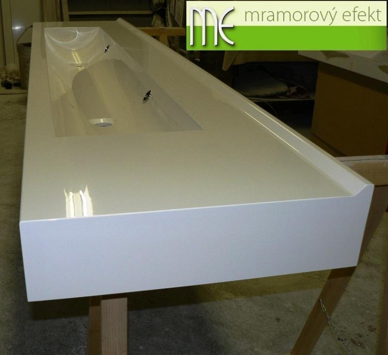 waschrinne h hle 165cm in der waschplatte nach mass 175. Black Bedroom Furniture Sets. Home Design Ideas
