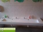 Umývací žlab_MŠ Znojemsko_délka 2 m