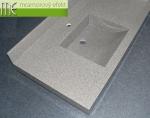 M.E. sro_umyvadlova deska Flexible 60_10 cm zadni soklik_8 cm predni celo_umyvadlo Massive 42_granit tweed