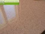 ME sro_umyvadlová deska Flexible 60_105x50cm_umyvadlo Mango 52x37x14_Waschtisch auf Mass_1x Mango Waschbecken_Granit Butterscotch
