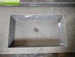 Umyvadlova deska na miru_Waschtisch auf Mass_Washbasin with integrated worktop_Flexible 47_3cm soklik_2 umyvadla DAKOTA52_granit SLATE